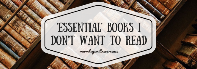 BOOKs I don't want