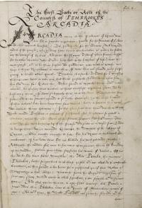 Arcadia_manuscript_ca._1585