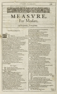 First-page-first-folio-measure-for-measure